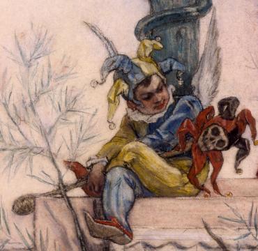 1883-85 rops Dame au Pantin detail