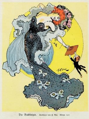1902 F.Bac La reine du Bal