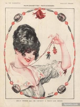 1918 herouardmarionnettes-parisiennes-puppets-hprints-com