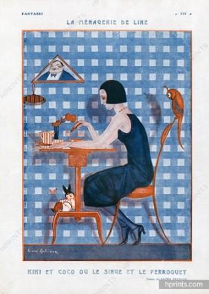 1922 zaliouk-la menagerie de Line hprints-com