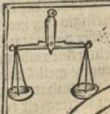Albertus Magnus Philosophia pauperum 1508 balance