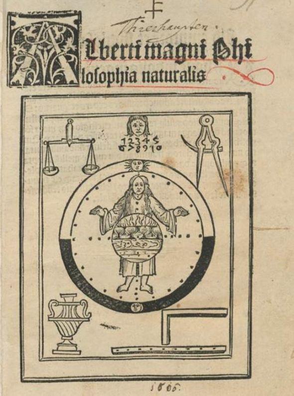 Albertus Magnus Philosophia pauperum 1508