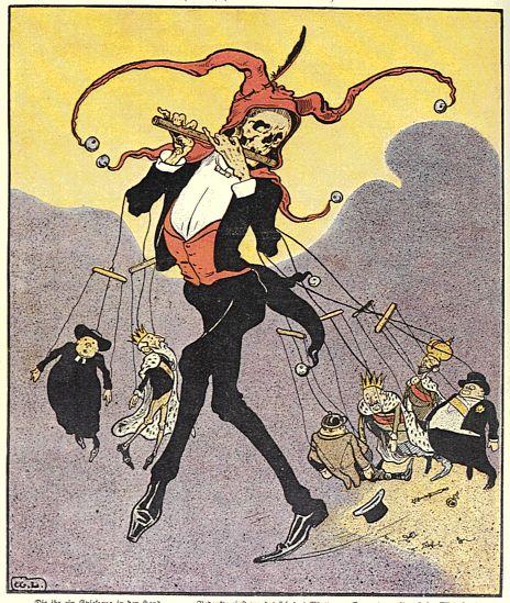 Caricature de Der wahre Jacob. Nr. 514. 1906