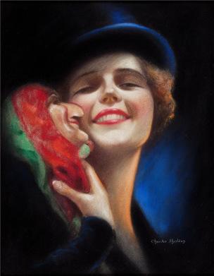Charles Gates Sheldon Portrait de Mary Wesson