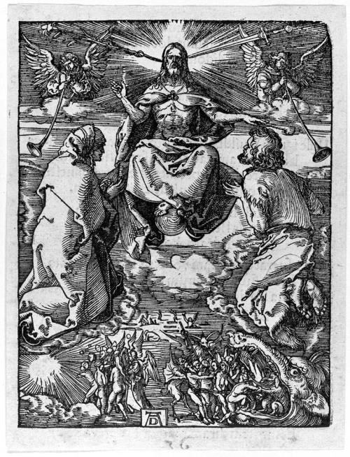 Durer Petite Passion 1511 Jugement Dernier