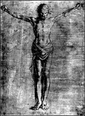 Durer christ 4 clous 1523