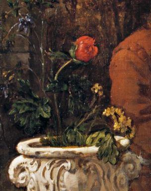 Metsu-Diptyque_1658_Femme lisant fleur
