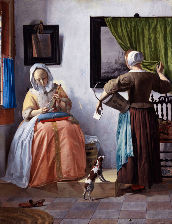 Woman Reading a Letter METSU