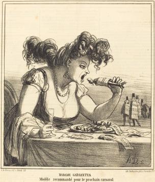 daumier-madame-gargantua-1866