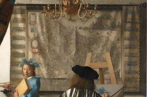 Vermeer Carte Art peinture