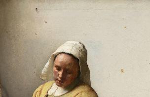 Vermeer Mur Laitiere