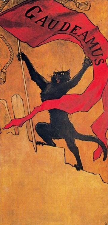 le-chat-noir-gaudeamus-steinlein-1890