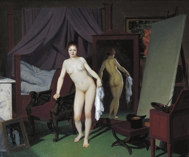 model-in-the-studio-cercle-de-eckersberg