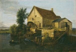 Alexandre Pau de Saint-Martin (actif de 1791 à 1848), Le moulin