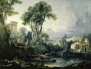 boucher-1743-paysage-avec-un-moulin-barnard-castle-the-bowes-museum-co-durham-bis