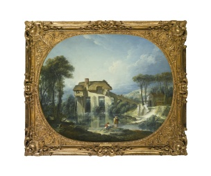 boucher-1748-cathe-mill-of-quiquengrogne-at-charenton-coll-privee