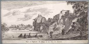 israel-silvestre-1645-veues-et-perspectiue-du-village-et-du-pont-de-charenton