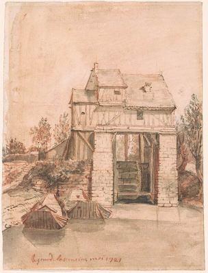 nicolas-vleughels-1721-moulin-a-charenton-pierpont-morgan-library