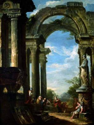 Panini-1719-Ruins-of-a-Temple-with-an-Apostle-Preaching-Holburne-Museum-Bath