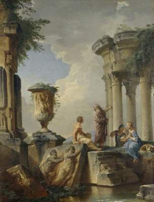 panini-1720-ca-ruins-with-a-prophet-and-other-figures-hashmolean-museum-university-of-oxford