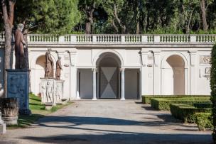 La couleur et son lieu / Emmanuel Van der Meulen - Teatro delle Esposizioni III - Loggia di Cleopatra - Villa Medici -  Roma