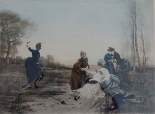 Emile-Antoine Bayard 1884 La Reconciliation