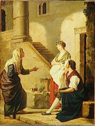 Gauffier Pauline L'Horoscope realise Musee Magnin Dijon 1798