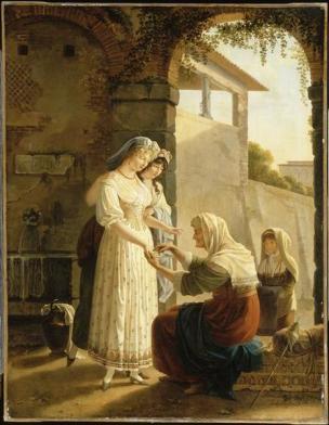 Gauffier Pauline L'Horoscope tire Musee Magnin Dijon 1798