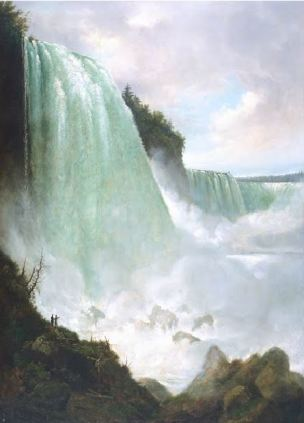 The Niagara River at the Cataract Gustav Grunewald, vers 1832, De Young Museum