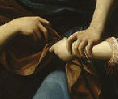 A Joseph et la femme de Putiphar - Leonello Spada 1610-15 Lille, Musee des Beaux-Arts detail