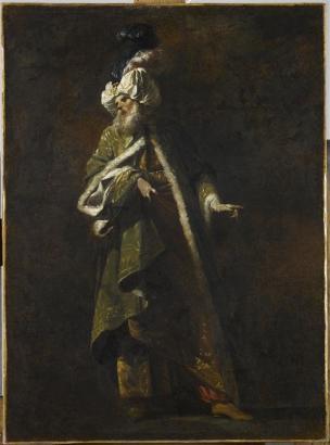 Barbault Jean Un Pretre de la loi 1748 Louvre