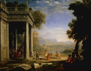 Claude-Lorrain- David sacre roi par Samuel
