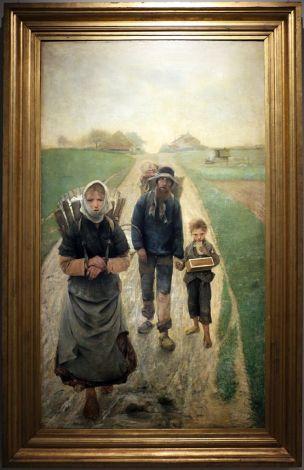 FREDERIC Leon Les marchands de craie 1882-83 matin