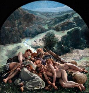 FREDERIC Leon Triptyque de l'Age d'Or le Midi, Musee d'Orsay Paris