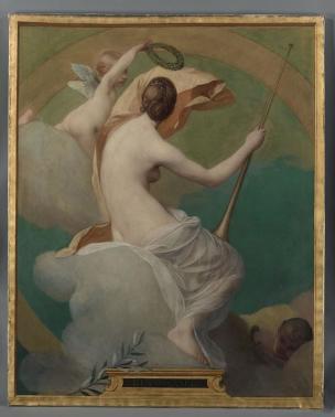 GALLAND Pierre Victor La renaissance des Arts Beauvais Musee de l'Oise 1888
