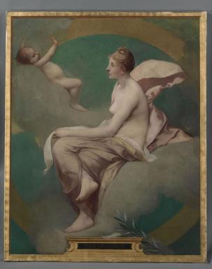 GALLAND Pierre Victor La renaissance des Lettres Beauvais Musee de l'Oise 1888
