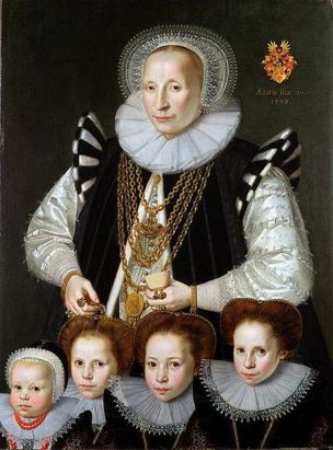 Gortzius Geldorp Family Portrait, 1598 F
