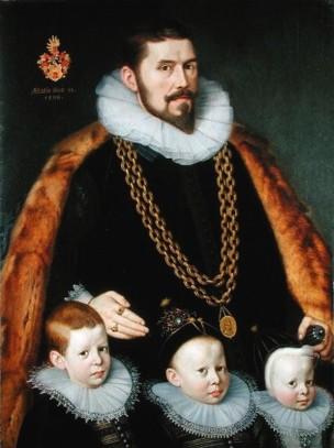 Gortzius Geldorp Family Portrait, 1598 M