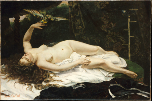 Gustave_Courbet_1866__Woman_with_a_Parrot MET