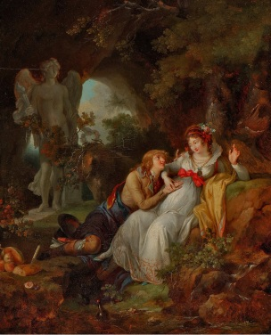 Jean- Frederic-Schall-Les epoux 1790 coll part