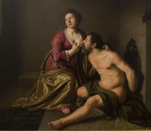 Johannes Cornelisz Verspronck Roman charity 1633-35