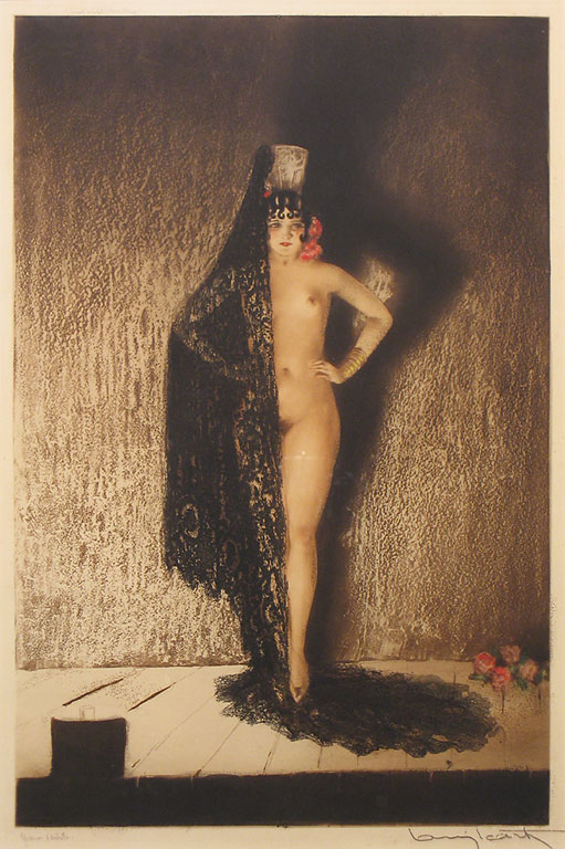Louis Icart Conchita 1929