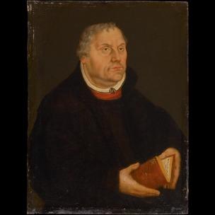 Lucas Cranach le jeune apres 1560 Luther Stiftung Schloss Friedenstein, Gotha