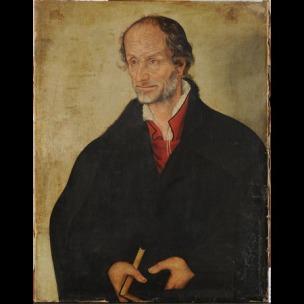 Lucas Cranach le jeune apres 1560 Melanchton Stiftung Schloss Friedenstein, Gotha