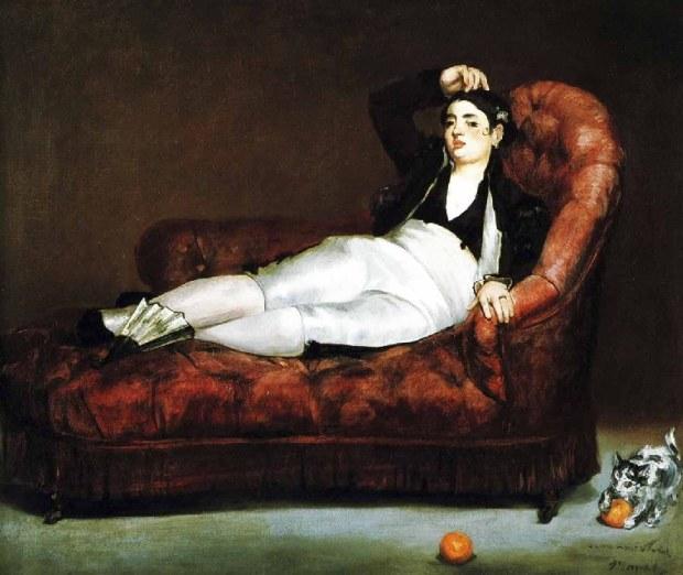 Manet Jeune femme habillee en costume espagnol 1862