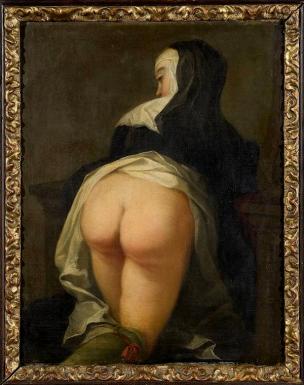 Martin van Meytens - Kneeling Nun b