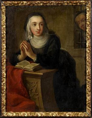 Martin van Meytens - Kneeling Nun c1731