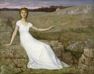 Pierre_Puvis_de_Chavannes Esperance 1872 The Walters Art Gallery Baltimore