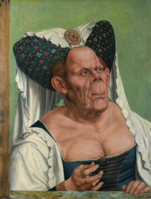 Quentin_Matsys_1513 ca A_Grotesque_old_woman National Gallery