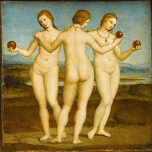Raphael_-_Les_Trois_Graces_-_Google_Art_Project